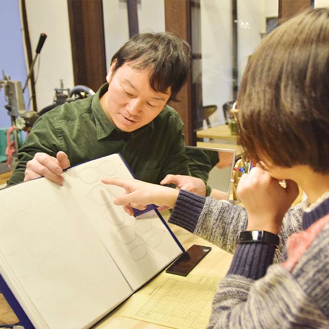 写真:メガネ製作所カフェ藍丸 スタッフ