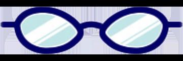 メガネ:フォックス型