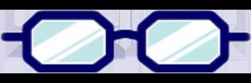 メガネ:オクタゴン型